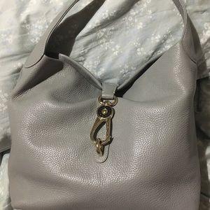 Dooney & Bourke grey hobo purse